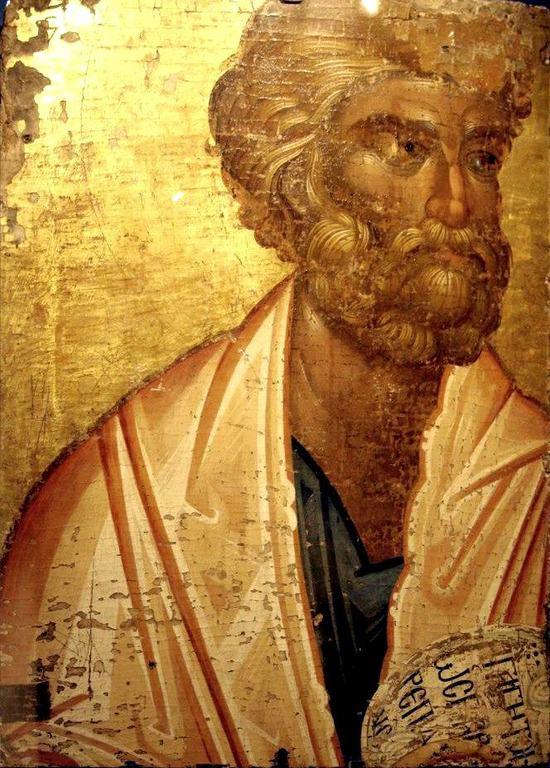 Святой Апостол Пётр. Икона. Византия, 1320 год.