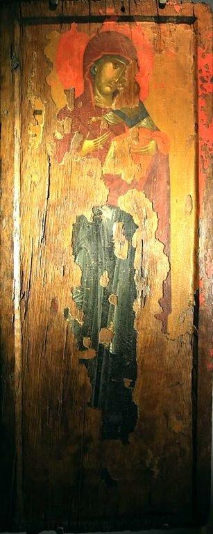 Богоматерь Елеуса. Византийская икона. Византийский музей в Верии, Греция.