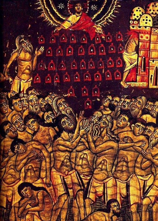 Святые Сорок Мучеников Севастийских. Икона XIII века в монастыре Святой Екатерины на Синае.