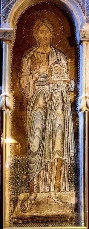 Христос Пантократор. Мозаика церкви Порта Панагия близ Трикалы, Греция. Около 1285 года.