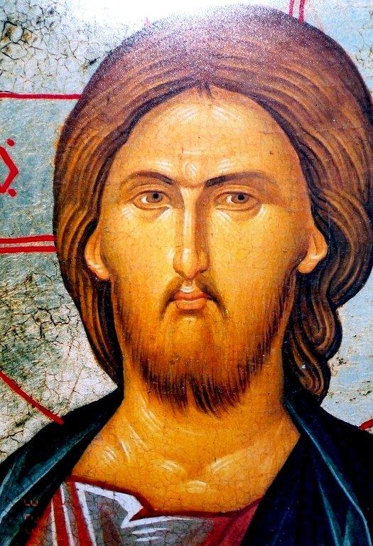 Христос Пантократор. Икона. Лик Спасителя.