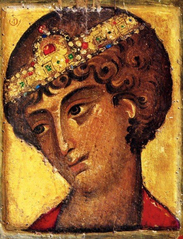 Святой Великомученик Георгий Победоносец. Византийская икона XIII века. Монастырь Святой Екатерины на Синае.