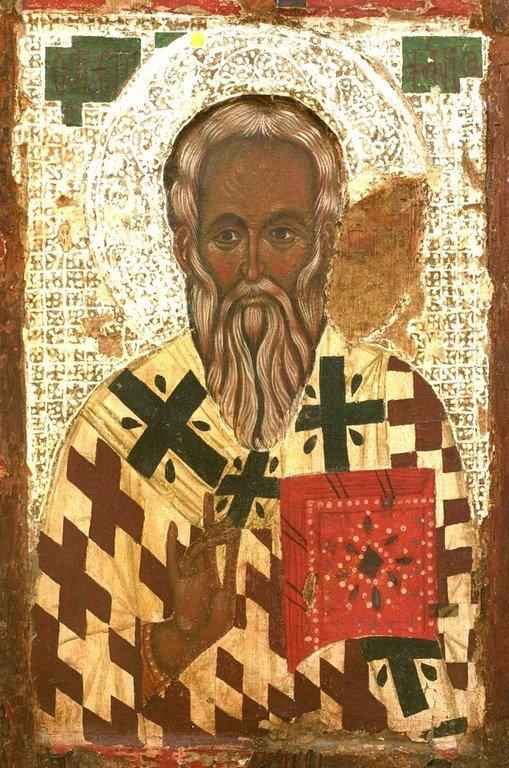 Святитель Епифаний, Епископ Кипрский. Кипрская икона.