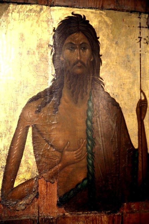 Святой Иоанн Предтеча. Икона. Византия (?), XIV век.