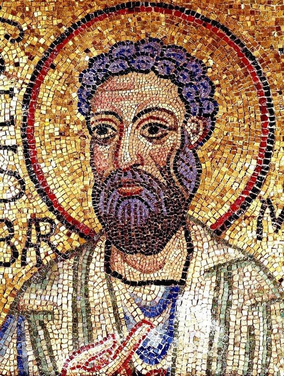 Святой Апостол Варфоломей. Мозаика собора Святого Марка в Венеции. XI век.
