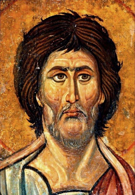 Святой Пророк Моисей Боговидец. Византийская икона XII века. Монастырь Святой Екатерины на Синае. Лик.