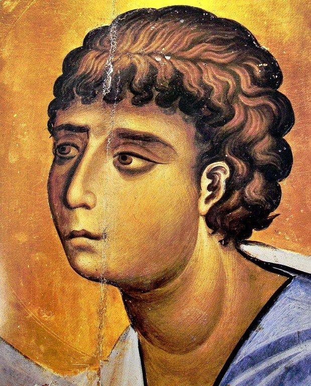 Святой Пророк Моисей Боговидец. Византийская икона второй половины XI века. Монастырь Святой Екатерины на Синае. Лик.