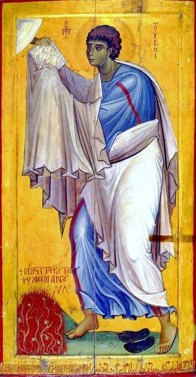 Святой Пророк Моисей Боговидец. Византийская икона второй половины XI века. Монастырь Святой Екатерины на Синае.