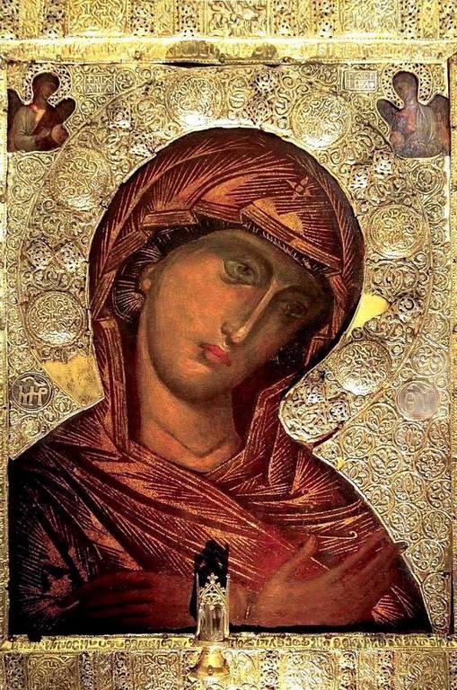 Икона Пресвятой Богородицы. Фермо, Италия.