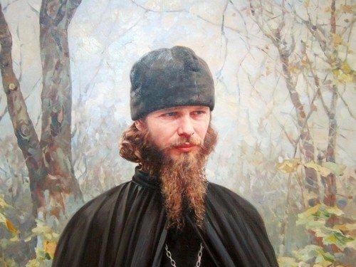 Василий Игоревич Нестеренко (род. в 1967 году). Наедине с собой. 1995 год.