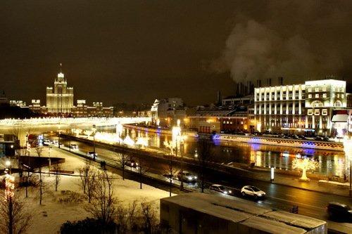 Москва-река у ТЭЦ-1