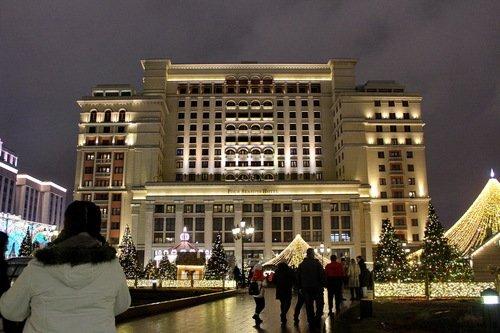 Гостиница Four seasons, бывшая Москва...