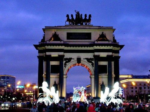 Новогодняя Триумфальная