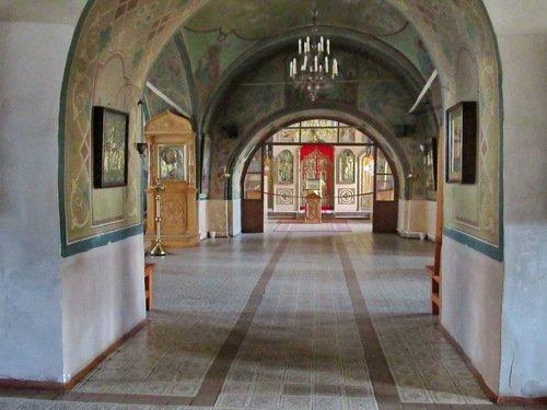 Церковь Николая Чудотворца Набережная. Интерьер.