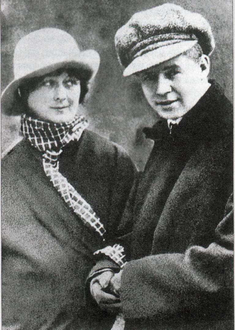 Сергей Есенин и Айседора Дункан, 1922 год.