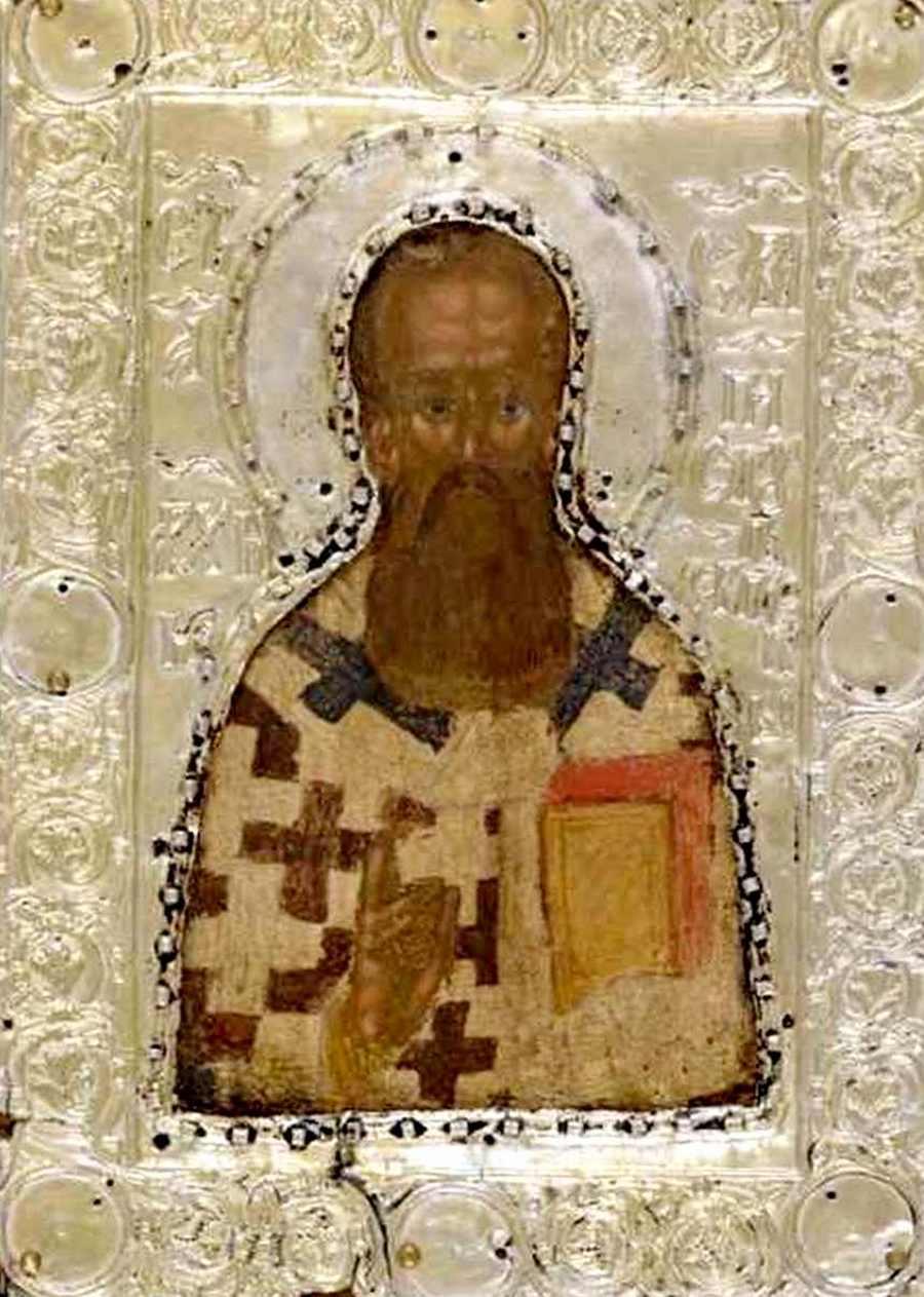 Святитель Савва, первый Архиепископ Сербский. Икона.