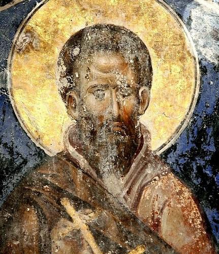 Фрески с изображением Преподобных в церкви Святой Троицы в монастыре Манасия (Ресава), Сербия. До 1418 года.