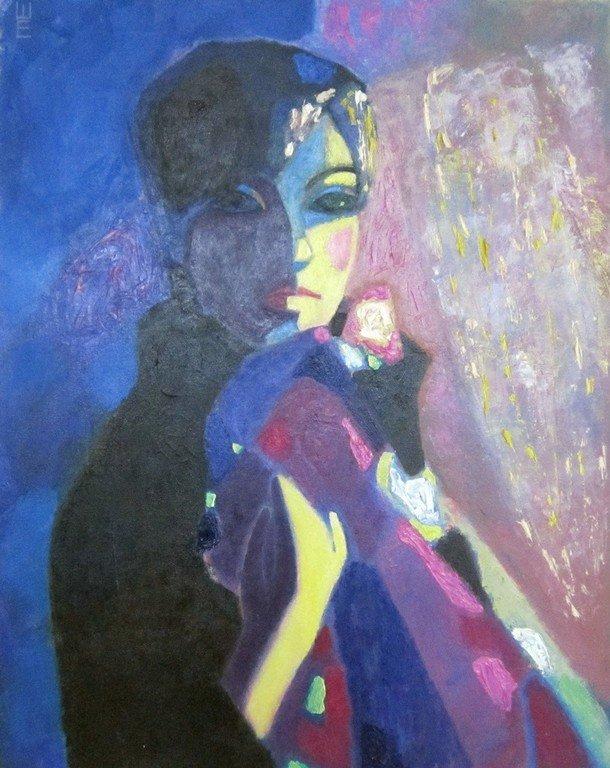 Елена Валерьевна Шепилова. Портрет мамы. 2010 год.