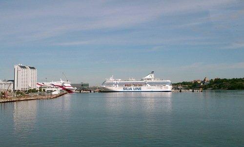 В порту Стокгольма