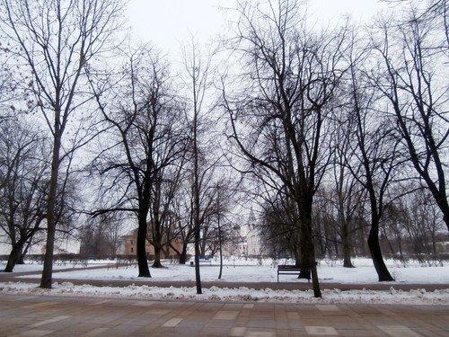 Зима в В Новгороде
