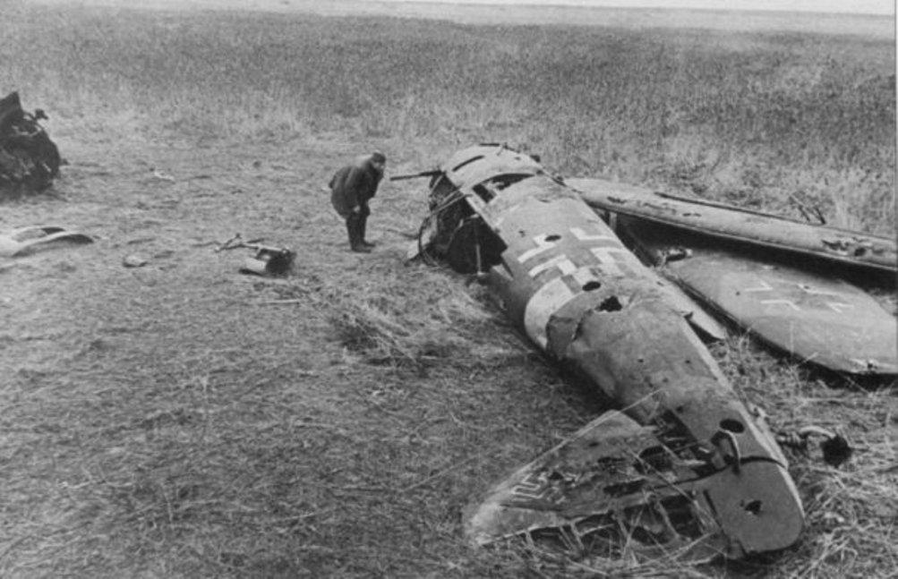 фото разбитых самолетов вов свадебное