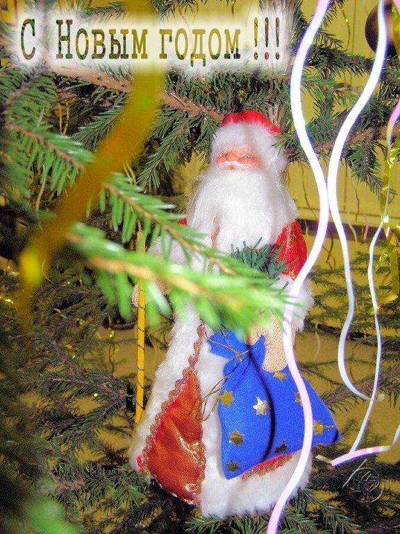 Дед  Мороз Поздравляет!