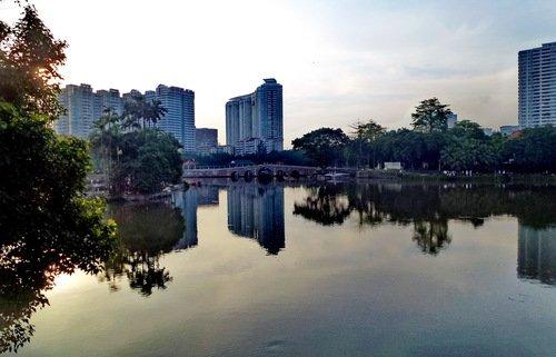 Вечер в Гуанчжоу
