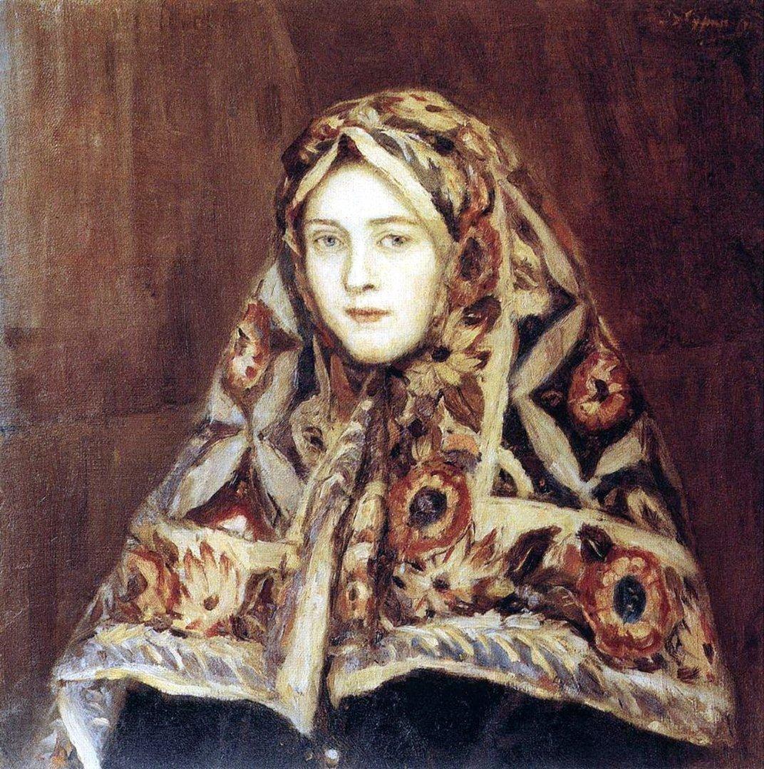 Василий Иванович Суриков. Анфиса. 1900-е