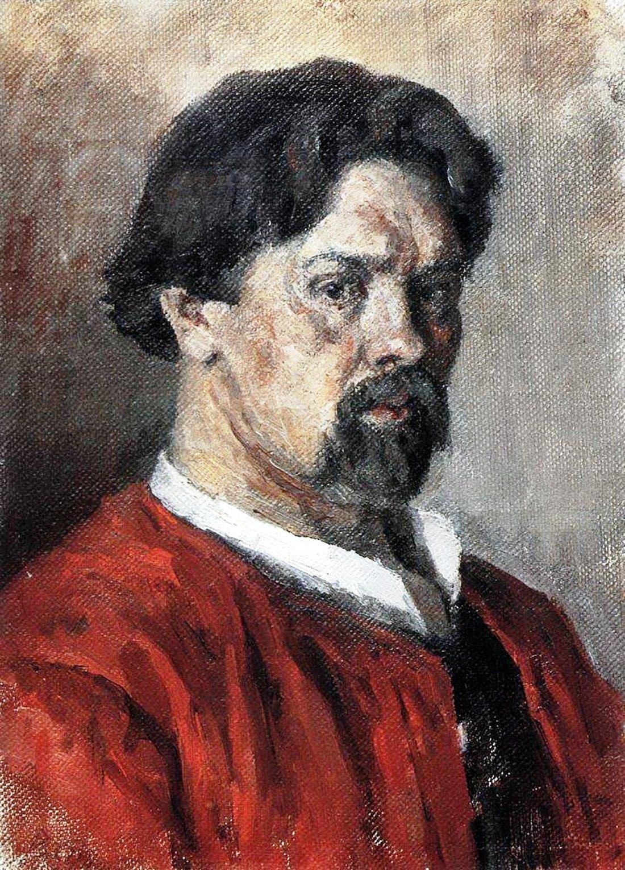 Василий Иванович Суриков  Автопортрет. 1902.