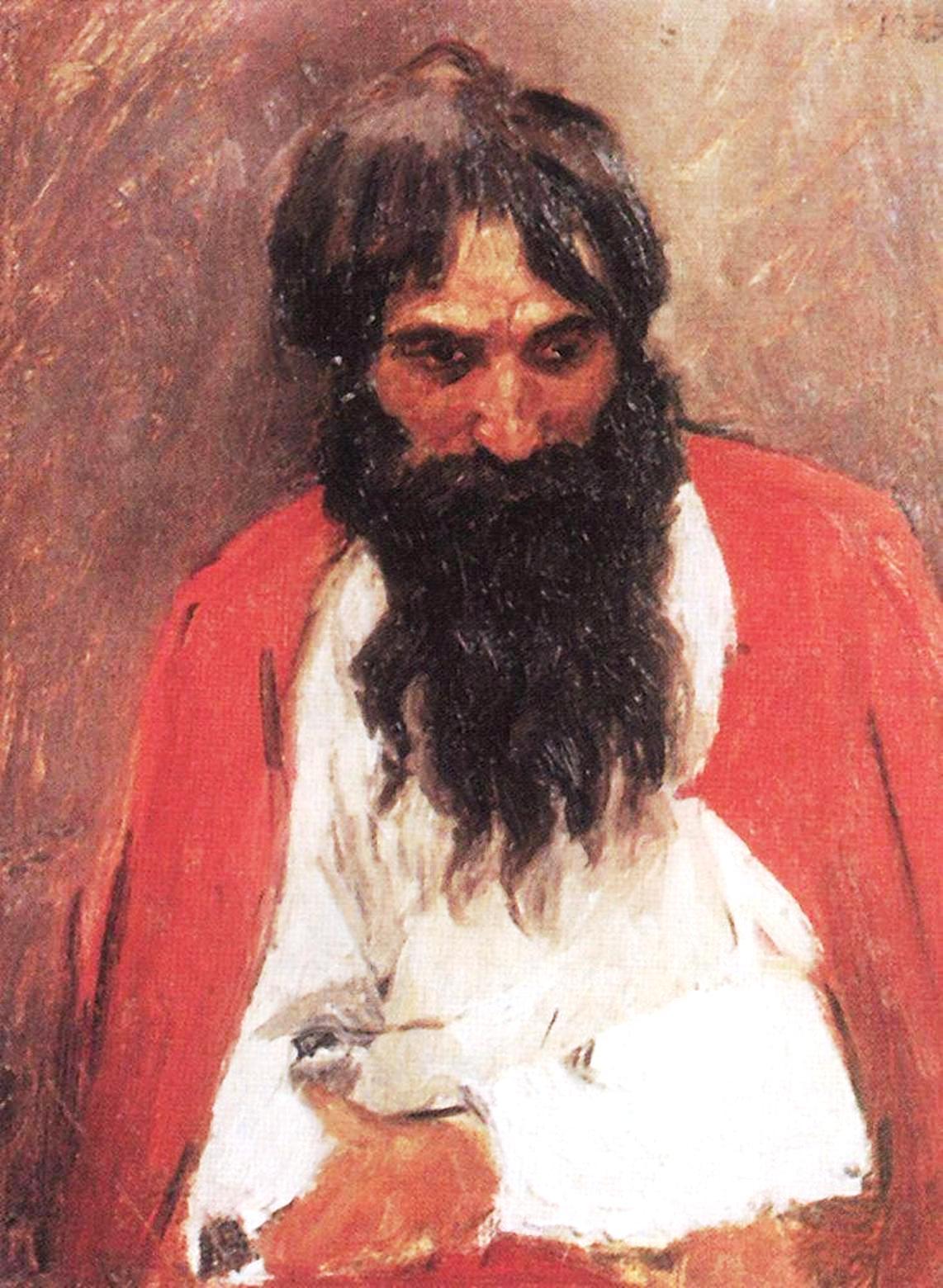 Василий Иванович Суриков  Чернобородый стрелец. 1879.