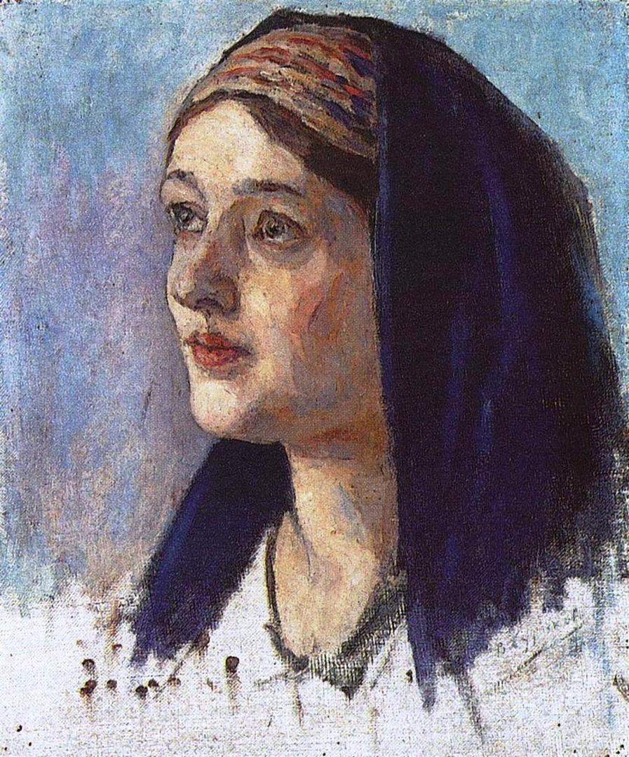 Василий Иванович Суриков   Голова Марии. 1913-1914.
