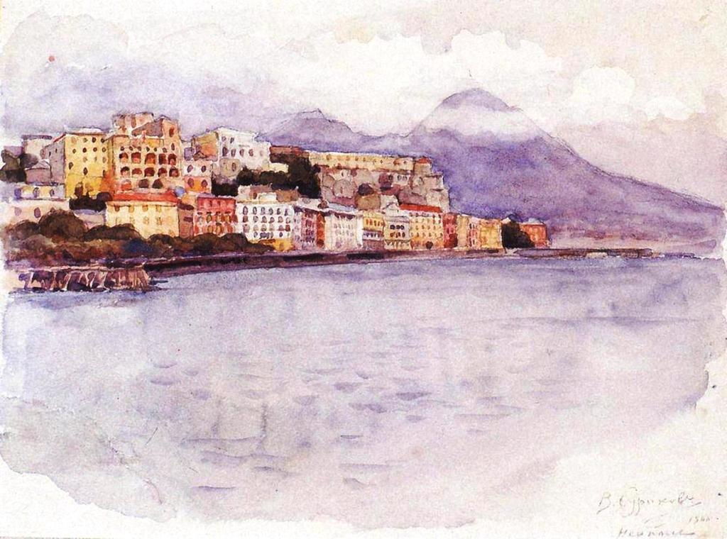 Василий Иванович Суриков – Неаполь. 1900.