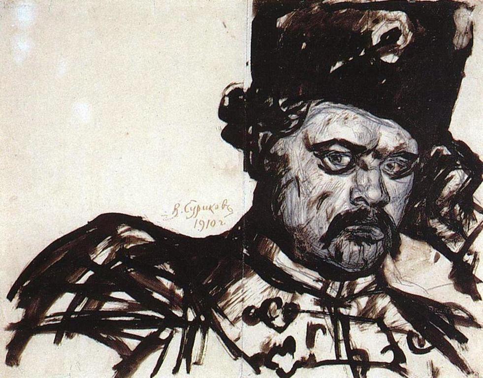 Василий Иванович Суриков – Степан Разин. 1910.