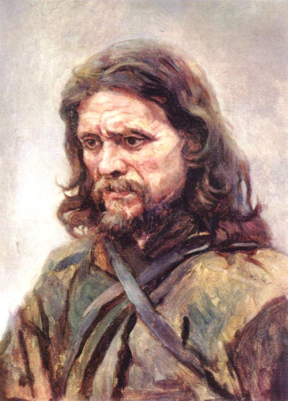 Василий Иванович Суриков – Странник. 1885.