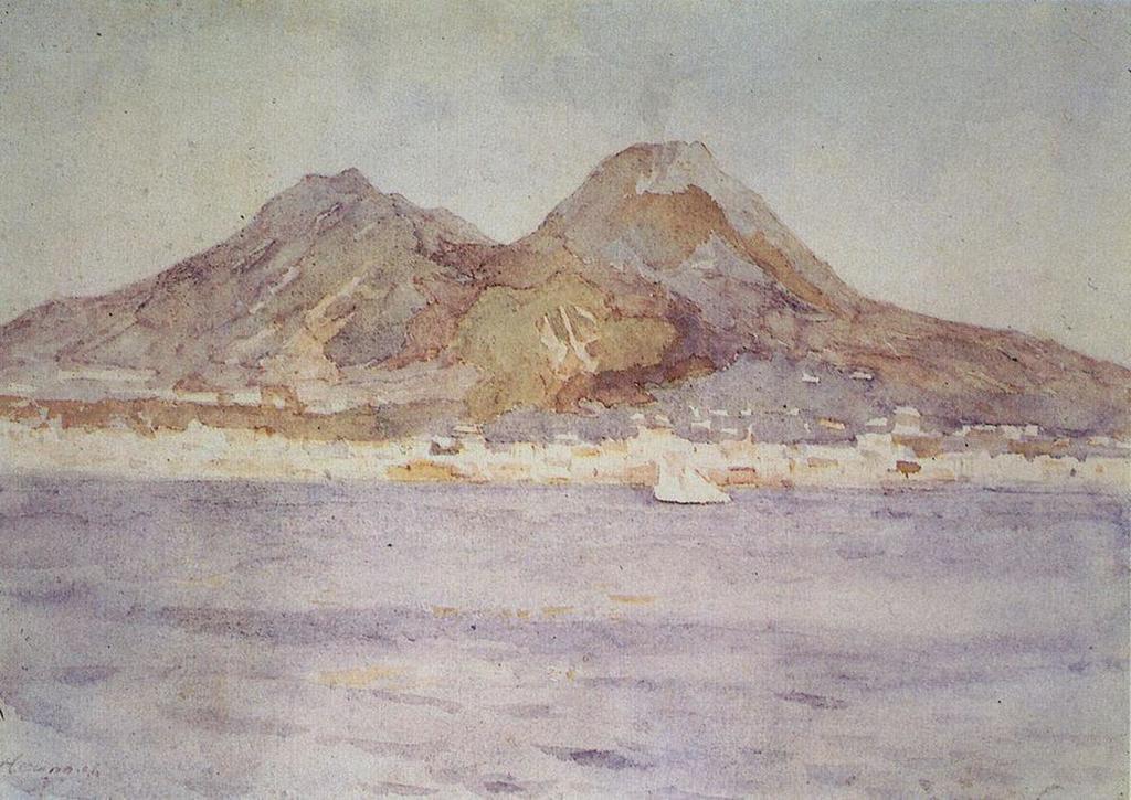 Василий Иванович Суриков – Неаполь. 1884.