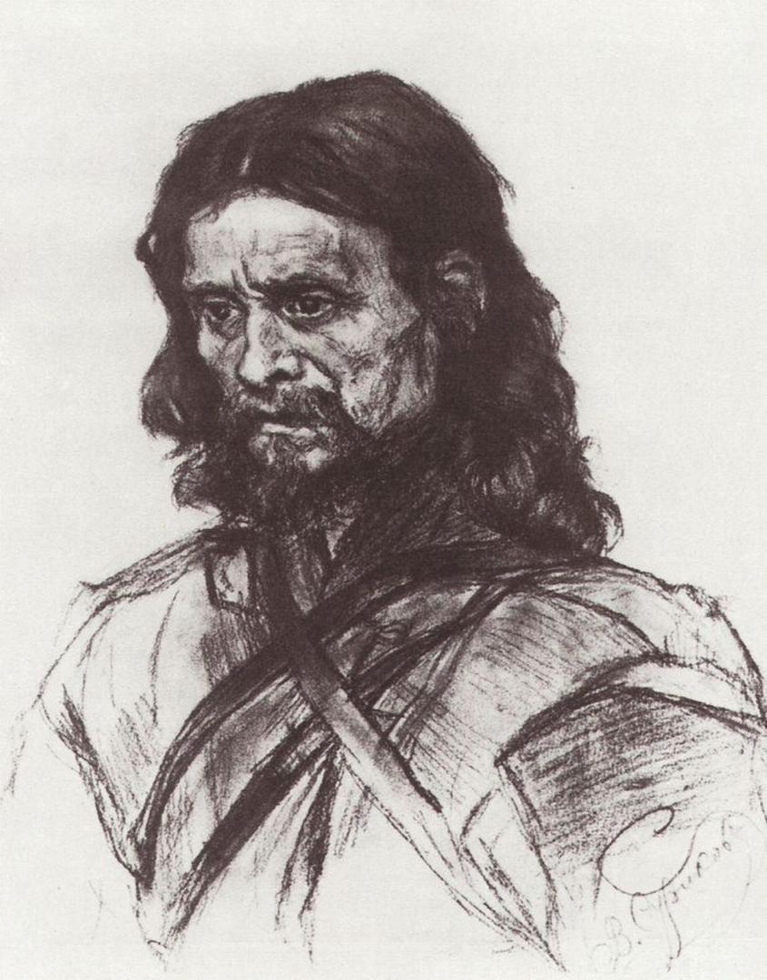 Василий Иванович Суриков – Странник.
