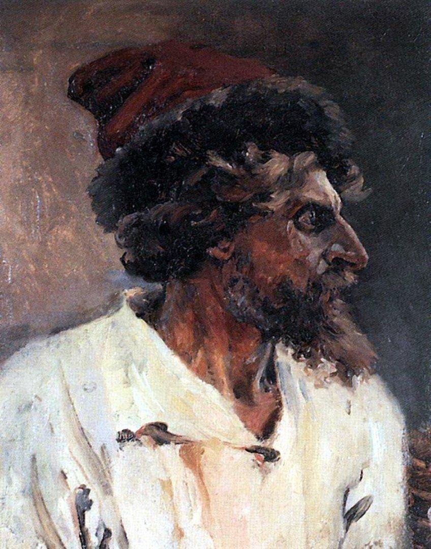 Василий Иванович Суриков – Стрелец в шапке. 1879.