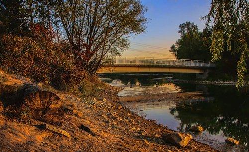 Утро на озёрах