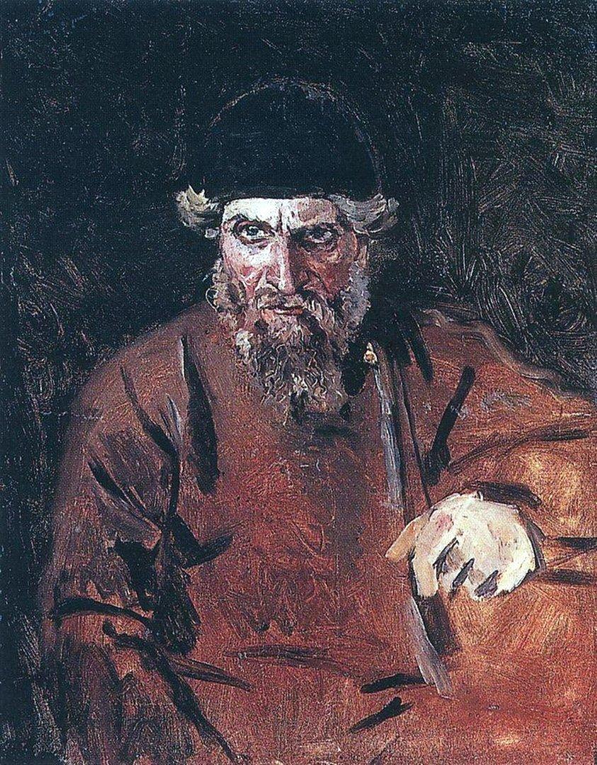 Василий Иванович Суриков – Стрелец. Около 1880
