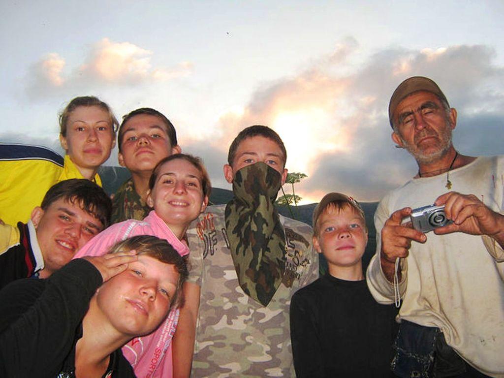 В походе, Кавказ, Лагонаки, лето 2010, фотографии моих друзей.jpg