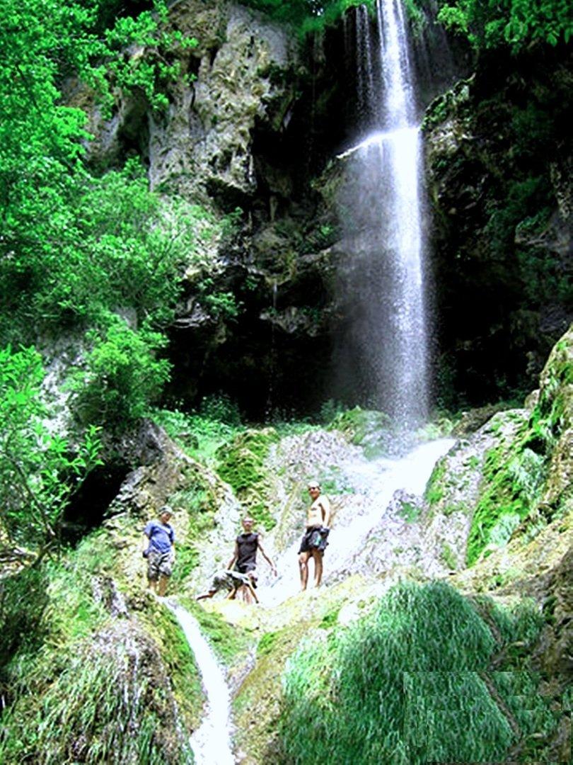 Монахов водопад... Мезмай 2010... Фотография Светланы Левада.
