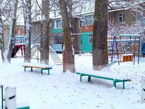 Зима и холода в Воронежской области.