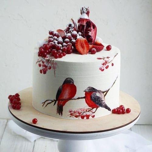 Новогодние тортики.