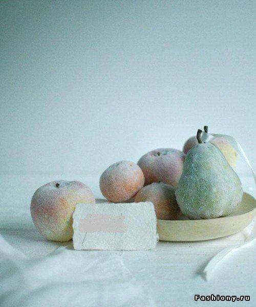 НОВЫЙ ГОД. Заснеженные фрукты.