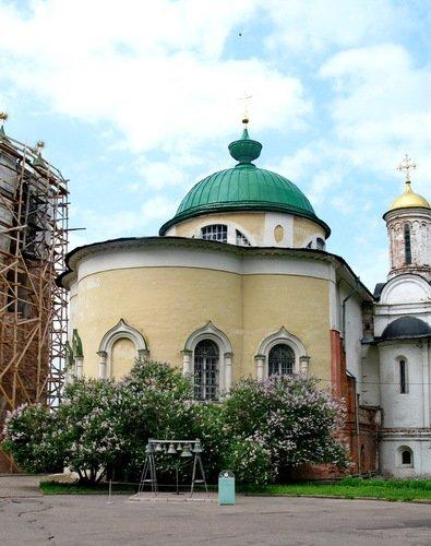Церковь Феодора, Давида и Константина Ярославских в Спасо-Преображенском монастыре