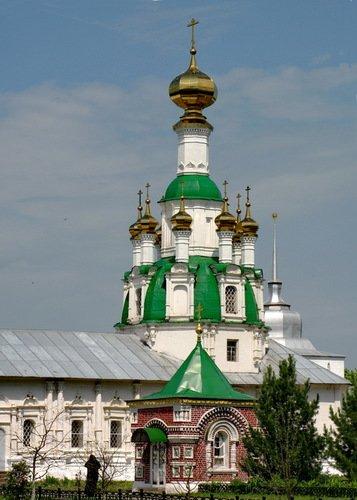 Церковь Спаса Нерукотворного Образа в Толгском монастыре