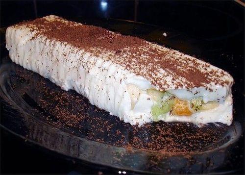 Низкокалорийный десерт.